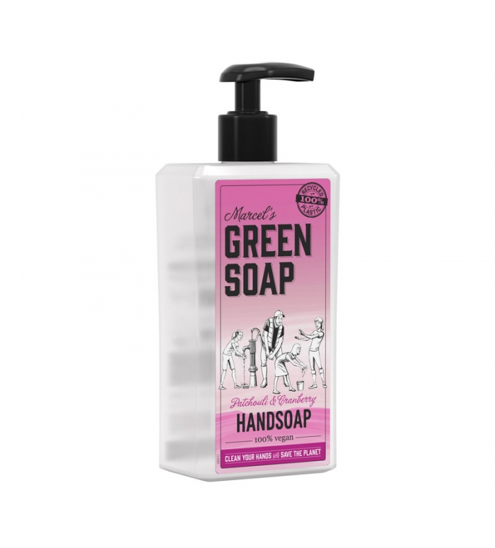Marcels Green Soap | Handzeep Patchouli & Cranberry